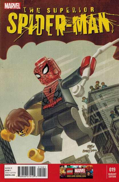 Superior Spider-Man #19 1:25 Castellani Color Lego Variant Marvel 2013