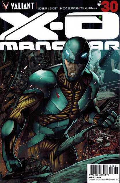 X-O Manowar #30 1:25 Rafa Sandoval Variant Valiant