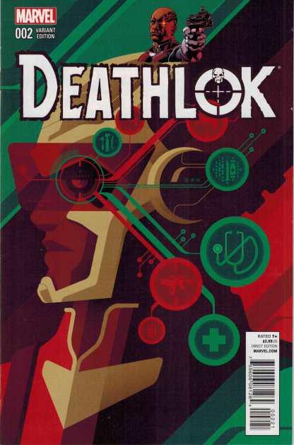 Deathlok #2 (2014) 1:25 Tom Whalen Variant ANMN