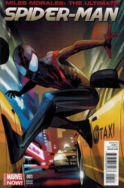 Miles Morales: The Ultimate Spider-Man #1 Fiona Staples Variant