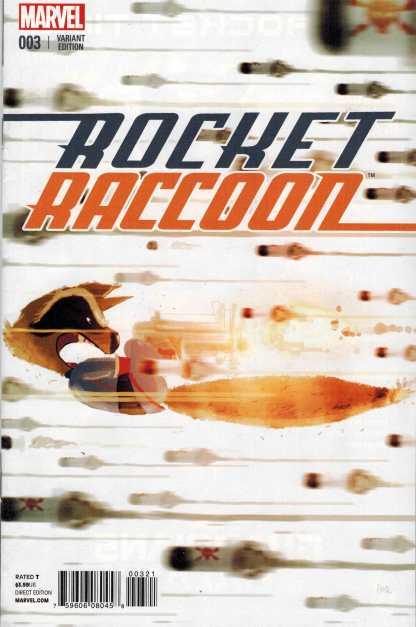 Rocket Raccoon #3 1:25 Campion Variant Guardians