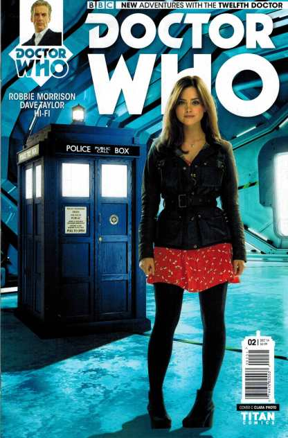 Doctor Who 12th #2 1:10 Photo Variant Cover C