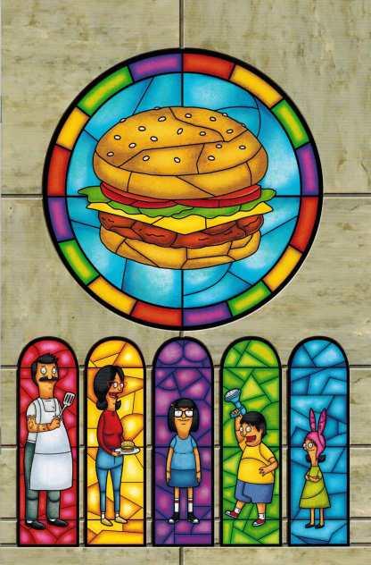 Bob's Burgers #4 Virgin Art Variant Dynamite