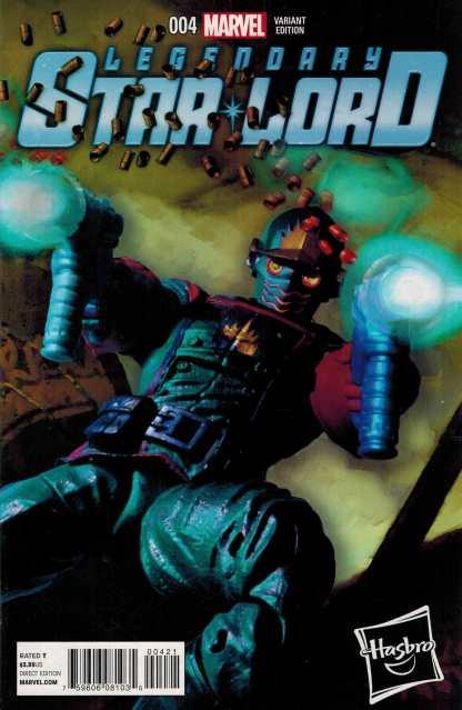 Legendary Star-Lord #4 1:15 Hasbro Variant