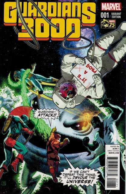 Guardians 3000 #1 1:25 Deadpool 75th Anniversary Variant