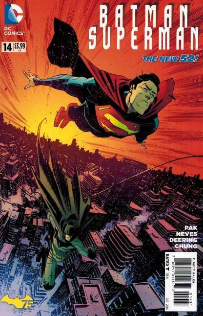 Batman Superman #14 1:25 Scalera Variant New 52
