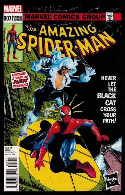 Amazing Spider-Man #7 1:15 Hasbro Homage Variant ANMN