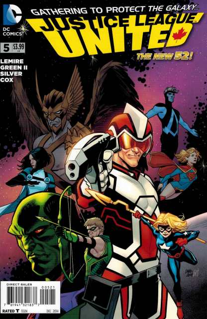 Justice League United #5 1:25 Variant DC New 52