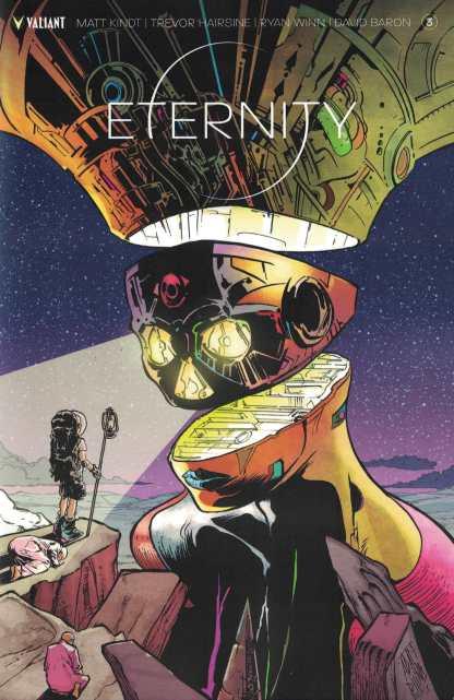Eternity #3 1:40 Adam Pollina Variant Cover D Valiant 2017