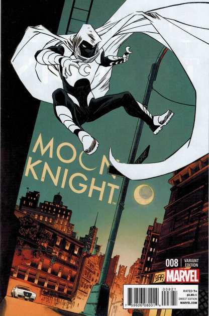 Moon Knight #8 1:25 Declan Shalvey Variant