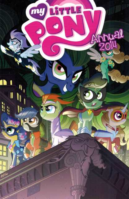 My Little Pony Annual 2014 1:10 Retailer Incentive Variant RI