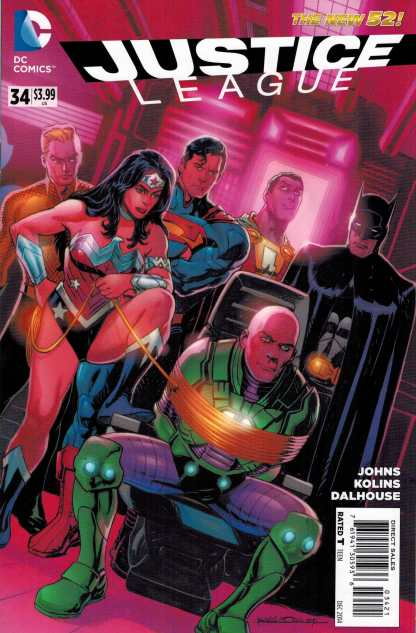 Justice League #34 New 52 1:25 Rags Morales Variant