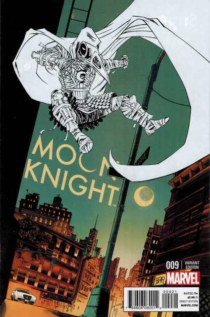 Moon Knight #9 1:25 Declan Shalvey Variant