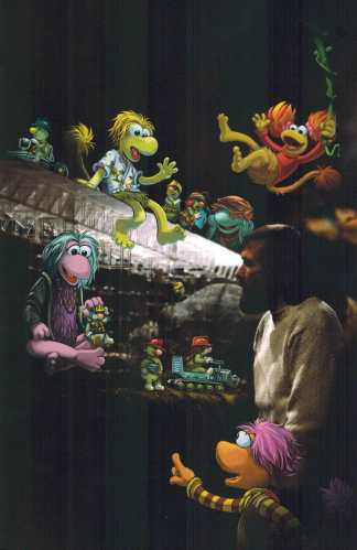 Fraggle Rock Journey to the Everspring #1 1:10 Virgin Art Photo Variant Boom!