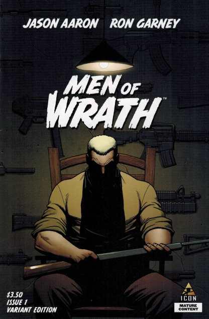 Men of Wrath #1 1:25 Steve Dillon Variant Jason Aaron