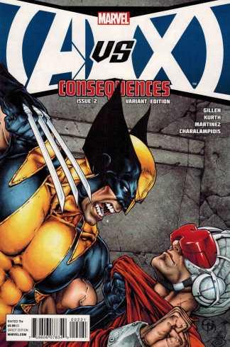 AvX Consequences #2 1:25 Shane Davis Variant Marvel 2012