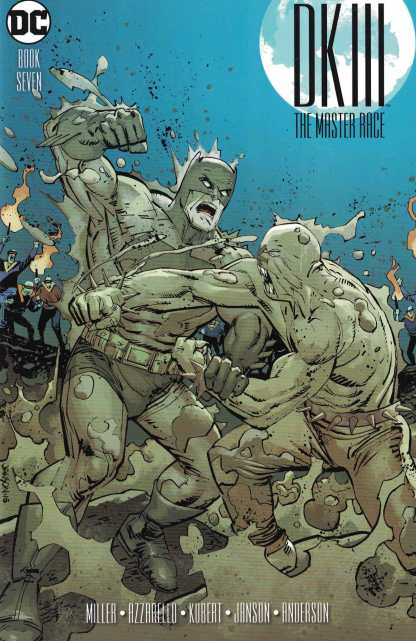 Dark Knight III Master Race #7 1:25 Klaus Janson Variant DC 2015 Batman DK3