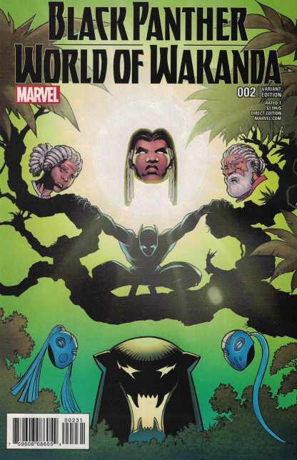 Black Panther World of Wakanda #2 1:25 Von Eeden Variant NOW Marvel 2016