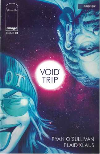 Void Trip #1 Exclusive Preview Variant Ryan O'Sullivan Plaid Klaus Image 2017