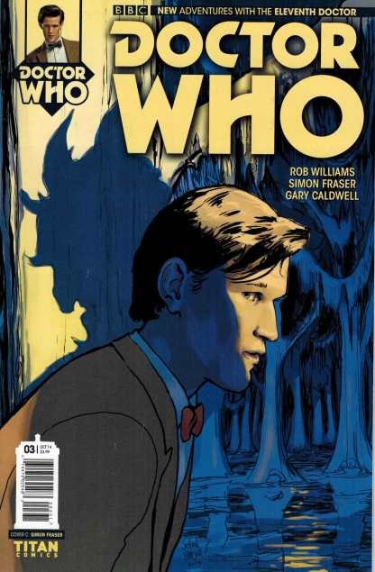 Doctor Who 11th #3 1:10 Retailer Incentive Variant Frasier Comic