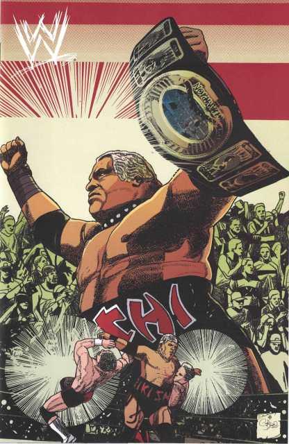 WWE #12 1:30 Carlos Magno Variant Rikishi Boom 2017
