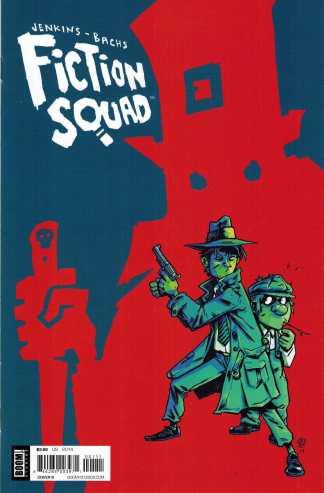 Fiction Squad #1 Cover B Variant BOOM!
