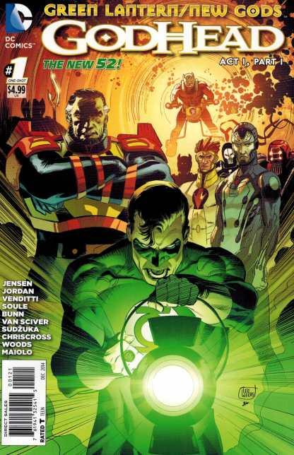 Green Lantern New Gods Godhead #1 1:25 Lee Weeks Variant