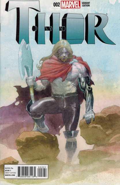 Thor #2 1:25 Esad Ribic Female Thor ANMN