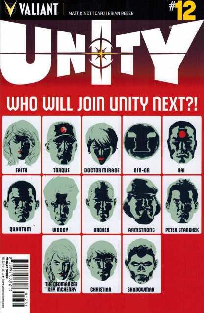 Unity #12 1:20 Allen Variant Valiant
