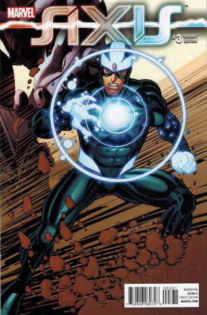 Axis #3 1:50 Nick Bradshaw Variant Havok Marvel 2014