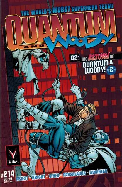 Q2: The Return of Quantum and Woody #2 1:25 Bart Sears Variant Valiant