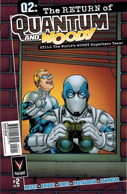 Q2: The Return of Quantum and Woody #2 1:10 Tom Raney Variant Valiant