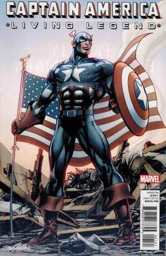 Captain America Living Legend #1 1:25 Neal Adams Variant Marvel 2013