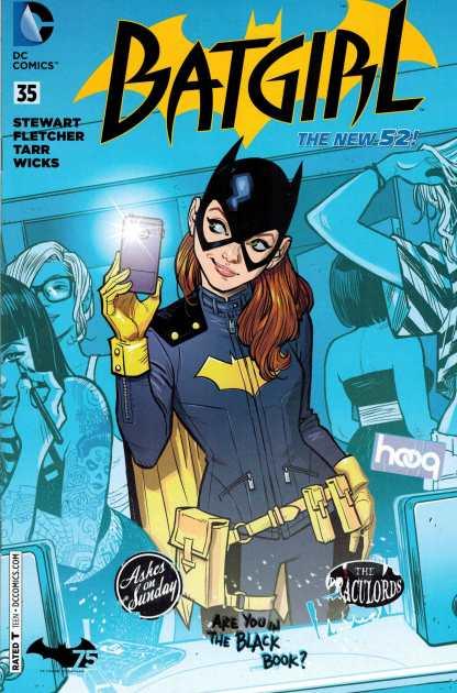 Batgirl #35 RRP 2014 Variant Retailer Exclusive Breakfast NYCC New York