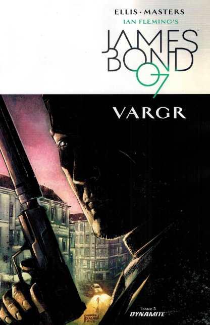 James Bond #3 1:10 Gabriel Hardman Variant Dynamite 2015