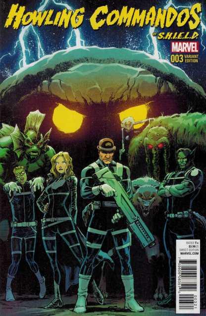 Howling Commandos of Shield #3 1:25 David Marquez Variant Marvel ANAD 2015