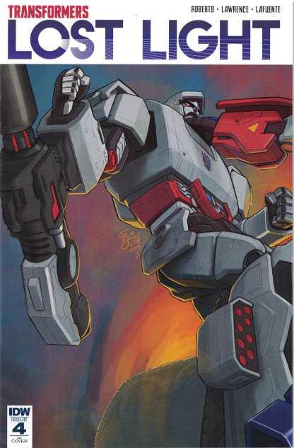 Transformers Lost Light #4 1:10 EJ Su Variant IDW RI