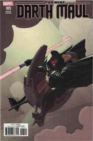Star Wars Darth Maul #5 1:25 David Lopez Variant Misprint Marvel 2017 NOT #3