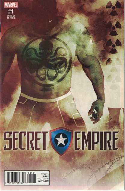Secret Empire #1 Andrea Sorrentino Hydra Heroes Variant Marvel 2017
