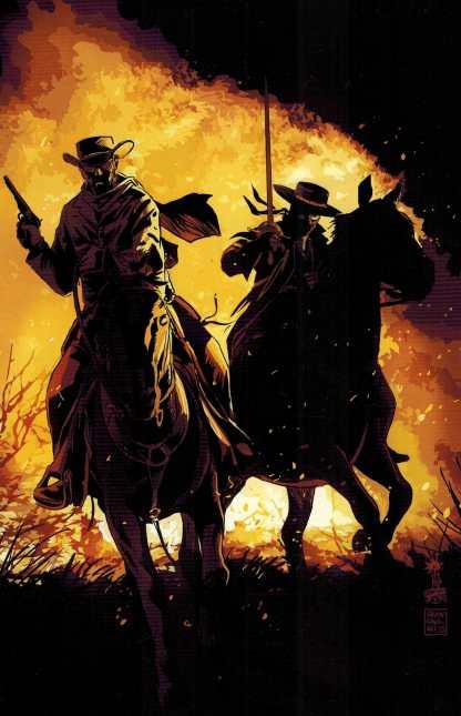 Django Zorro #1 1:15 Francavilla Virgin Art Variant Dynamite Comic