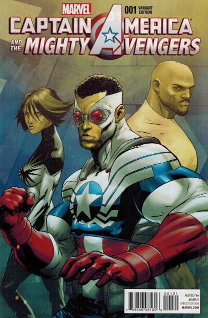 Captain America and the Mighty Avengers #1 1:25 Benjamin Variant