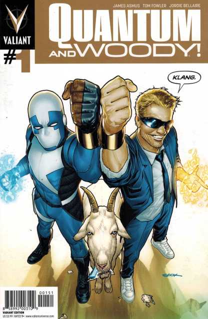 Quantum and Woody #1 GOLD Sook Variant Valiant
