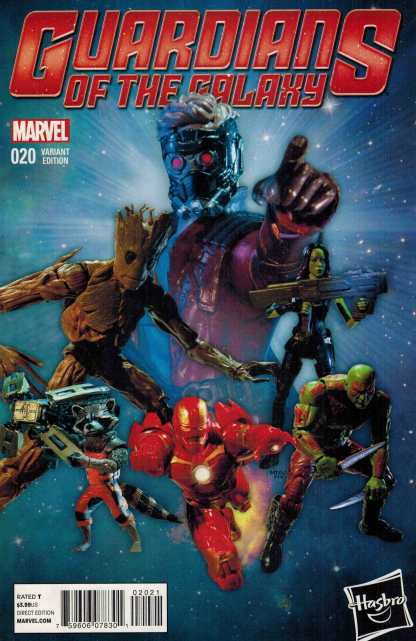 Guardians of the Galaxy #20 1:15 Hasbro Marvel Legends Variant