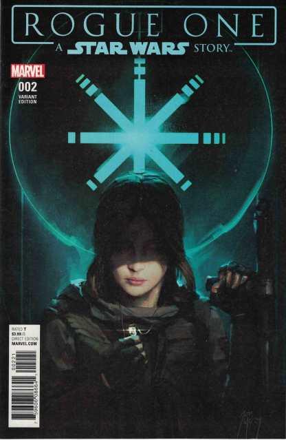 Star Wars Rogue One Adaptation #2 1:10 Jon McCoy Adaptation Variant Marvel 2017