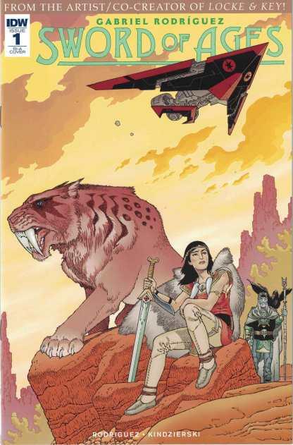 Sword of Ages #1 1:10 Gabriel Rodriguez Variant IDW 2017