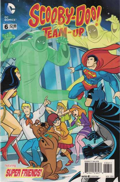 Scooby-Doo Team-Up #6 Featuring Super Friends DC 2013