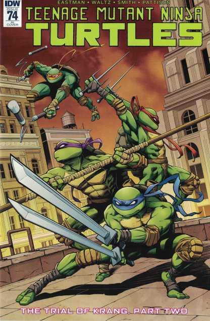 Teenage Mutant Ninja Turtles Ongoing #74 1:10 Donny Tran Variant IDW TMNT RI