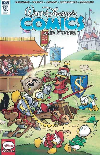Walt Disney Comics and Stores #735 1:10 Retailer Incentive Variant RI IDW