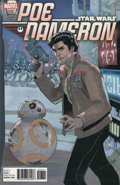 Star Wars Poe Dameron #7 1:25 Terry Dodson Variant Marvel 2016