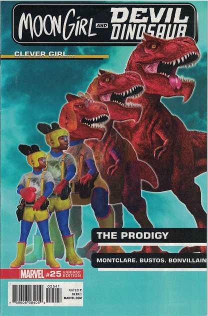 Moon Girl and Devil Dinosaur #25 1:25 Rahzzah Morphing Variant Marvel Legacy